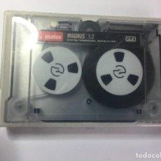 Antigüedades: CARTUCHO DE DATOS IMATION MAGNUS 1.2 GB. Lote 262598650