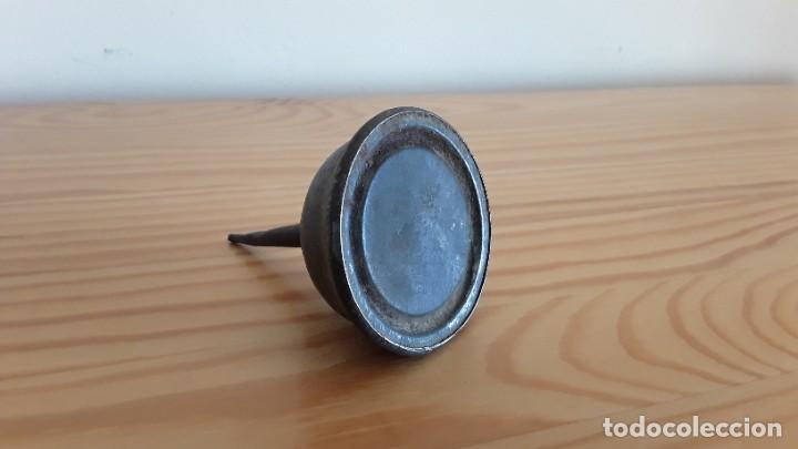 Antigüedades: Aceitera máquina coser - Foto 4 - 262646835