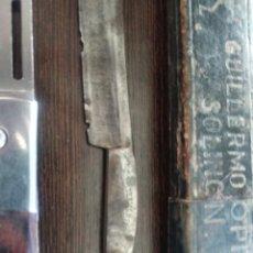 Antigüedades: DOS NAVAJAS DE AFEITAR. Lote 262708815