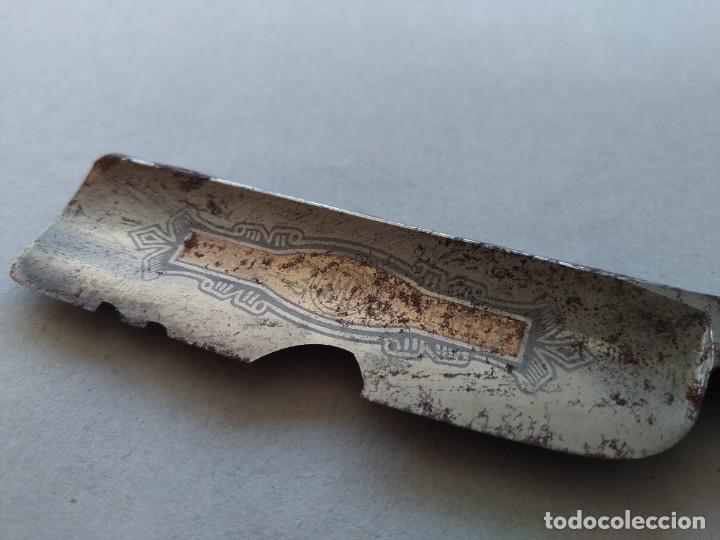 Antigüedades: ANTIGUA NAVAJA DE AFEITAR - DOBLE TEMPLE 14 - FILARMONICA ...L3924 - Foto 7 - 262720760