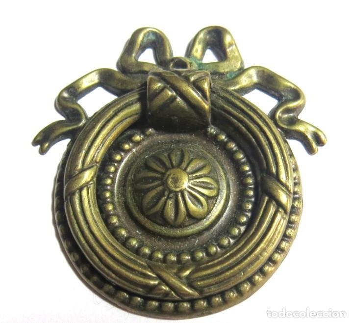 Antigüedades: LOTE DE SEIS TIRADORES CAJONERAS - Foto 3 - 262733990