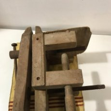 Antigüedades: TORNILLOS DE BANCO - PRENSA CARINTERIA ANTIGUO. Lote 262738145