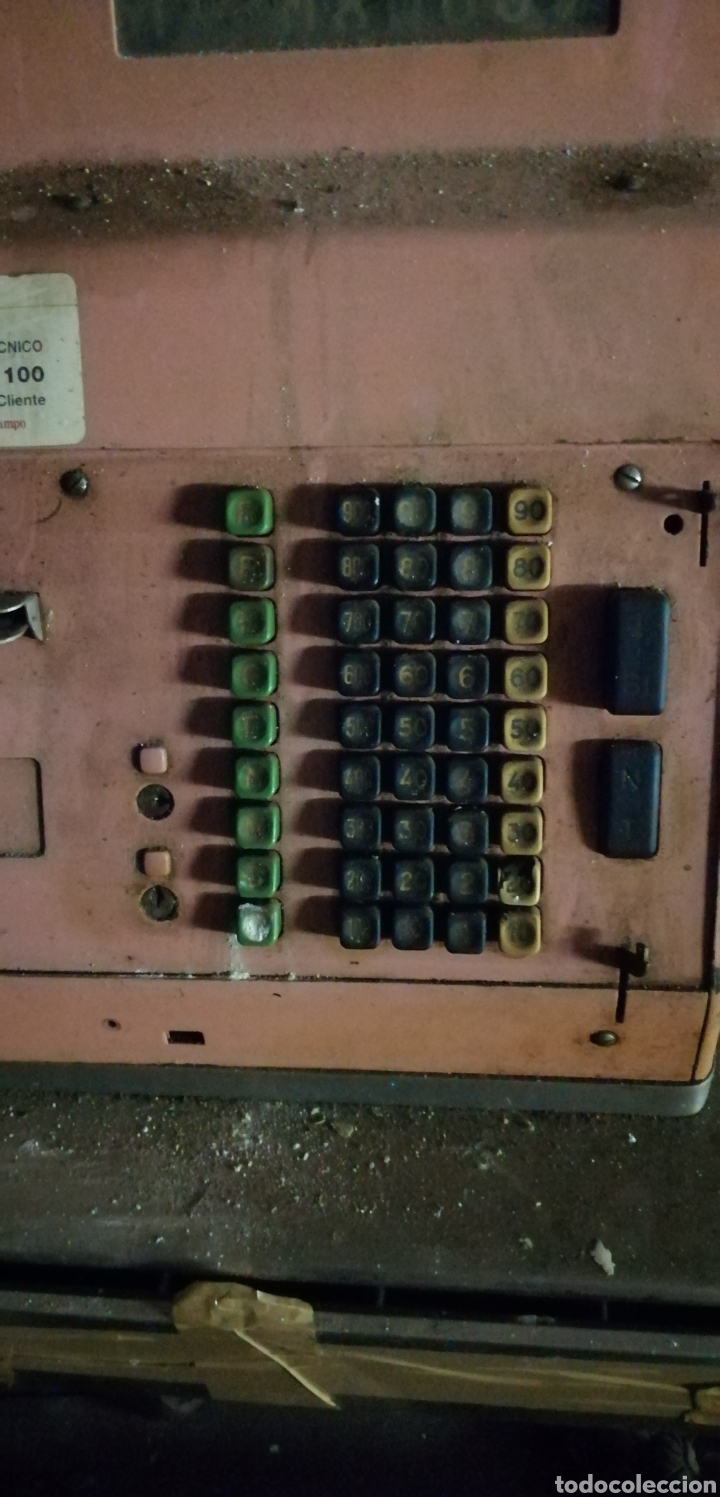 Antigüedades: Antigua caja registradora. - Foto 2 - 262738285
