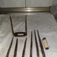 Antigüedades: CALVOS ANTIGUOS LARGOS.. Lote 262763875