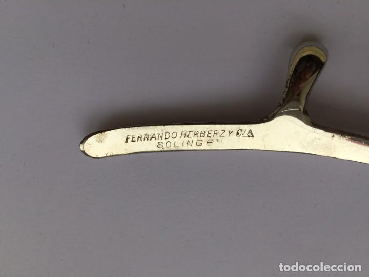 Antigüedades: MAQUINA CORTAR PELO - MEDICO - FERNANDO HERBERZ SOLINGEN - Foto 5 - 262791235