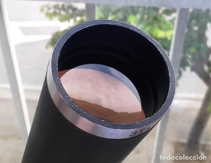 Antigüedades: Telescopio terrestre / Monocular telescópico 20x50 ● ZT4 URSS, 70s-80s Funcional (Estuche, correa) - Foto 4 - 262812175