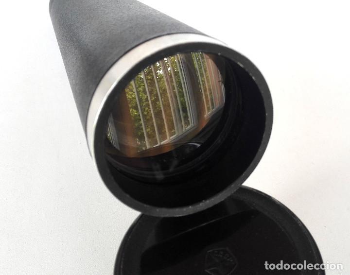 Antigüedades: Telescopio terrestre / Monocular telescópico 20x50 ● ZT4 URSS, 70s-80s Funcional (Estuche, correa) - Foto 9 - 262812175