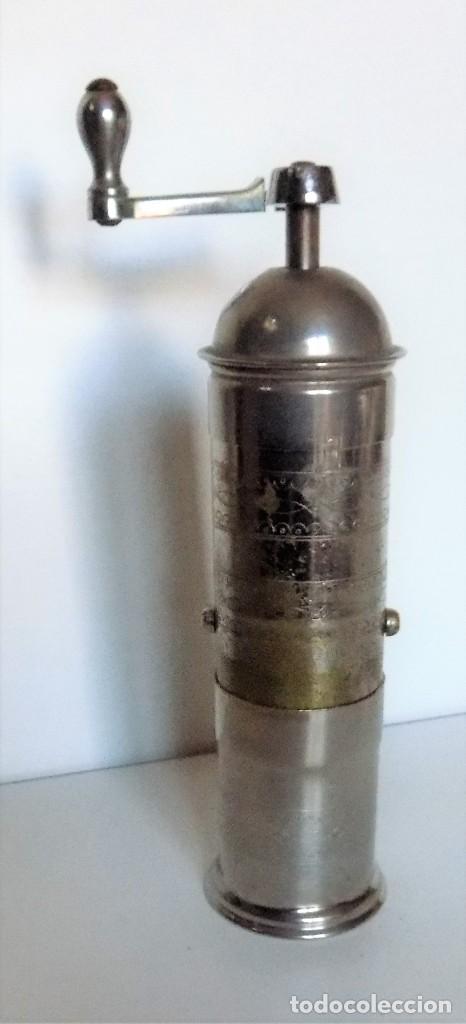 Antigüedades: MOLINILLO DE CAFÉ MARCA Pe. De. MODELO 461. ALEMANIA. CA. 1920/1955 - Foto 6 - 262854340
