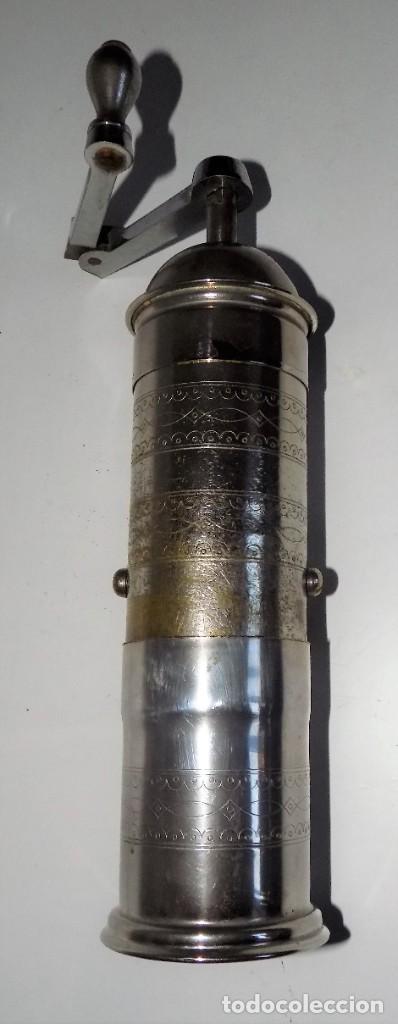Antigüedades: MOLINILLO DE CAFÉ MARCA Pe. De. MODELO 461. ALEMANIA. CA. 1920/1955 - Foto 8 - 262854340