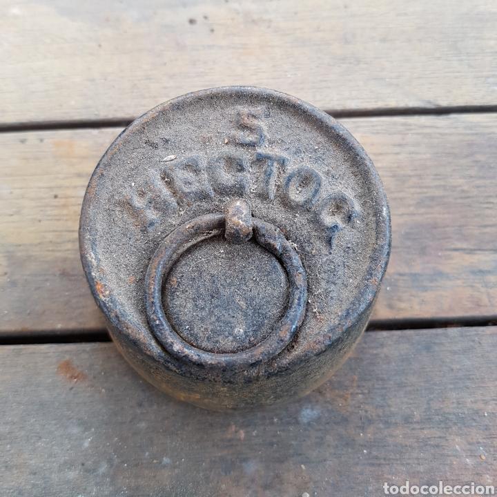 PESO DE 5 HECTOC (Antigüedades - Técnicas - Medidas de Peso Antiguas - Otras)