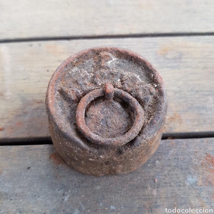 PESO DE 2 HECTOC (Antigüedades - Técnicas - Medidas de Peso Antiguas - Otras)