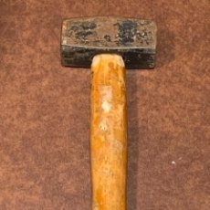 Antigüedades: MARTILLO MINERIA MINAS INGENIERO MINAS GEOLOGIA GEOLOGO 1000 IMPRESO 25X10CMS. Lote 262897435