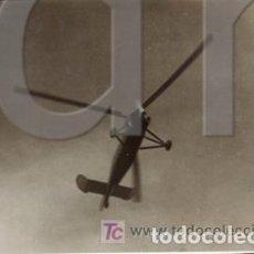Antigüedades: COLECCION DE 7 FOTOGRAFIAS DE LA VISITA A CASTELLON DE LA CIERVA CON SU AUTOGIRO. Lote 262942225