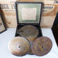 Antigüedades: CAJA DE MÚSICA SYMPHONION DE 1890. Lote 263019820