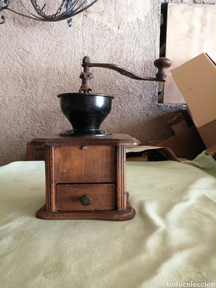 ANTIGUO MOLINO DE CAFÉ (Antigüedades - Técnicas - Molinillos de Café Antiguos)