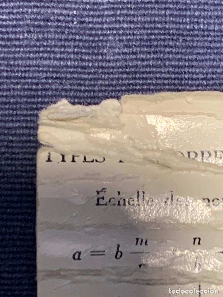 Antigüedades: REGLA DE PRECISION CALCULO RAPHOPLEX CON SU FORRO 5X30CMS - Foto 9 - 263064555