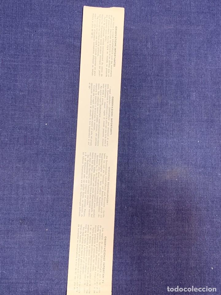 Antigüedades: REGLA DE PRECISION CALCULO RAPHOPLEX CON SU FORRO 5X30CMS - Foto 12 - 263064555