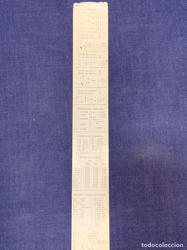 Antigüedades: REGLA DE PRECISION CALCULO RAPHOPLEX CON SU FORRO 5X30CMS - Foto 13 - 263064555
