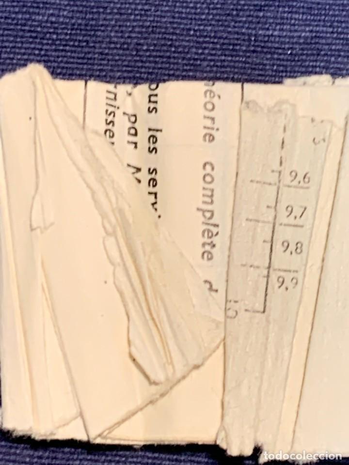 Antigüedades: REGLA DE PRECISION CALCULO RAPHOPLEX CON SU FORRO 5X30CMS - Foto 14 - 263064555