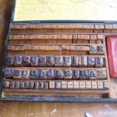 Antigüedades: IMPRENTA - CAJA IMPRENTA , MUY ANTIGUA. Lote 263077555
