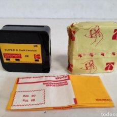 Antigüedades: CARTUCHOS PARA CÁMARAS DE CINE SUPER 8.. Lote 263154600