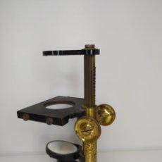 Antigüedades: MICROSCOPIO DE DISECCIÓN. E. LEITZ. WETZLAR. C. 1900. Lote 263203460