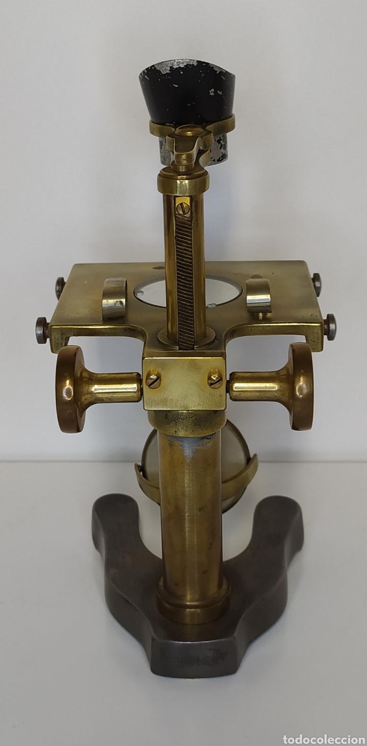 Antigüedades: Antiguo microscopio de disección Watson & Sons Ltd. London. c.1900 - Foto 2 - 263209580