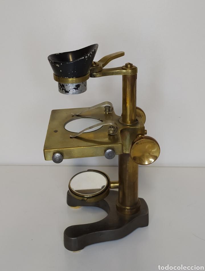 Antigüedades: Antiguo microscopio de disección Watson & Sons Ltd. London. c.1900 - Foto 3 - 263209580