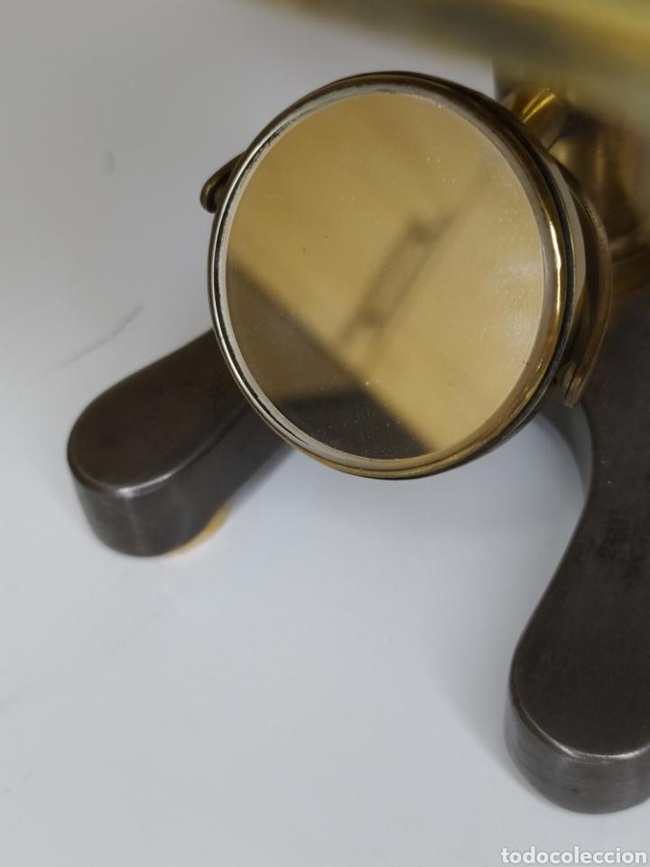 Antigüedades: Antiguo microscopio de disección Watson & Sons Ltd. London. c.1900 - Foto 7 - 263209580