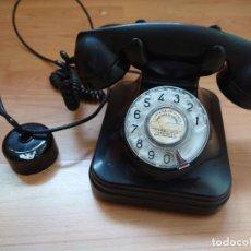 Teléfonos: TELÉFONO DE SOBREMESA 5523EZ AÑOS 50 BAQUELITA COLOR NEGRO. Lote 263232760