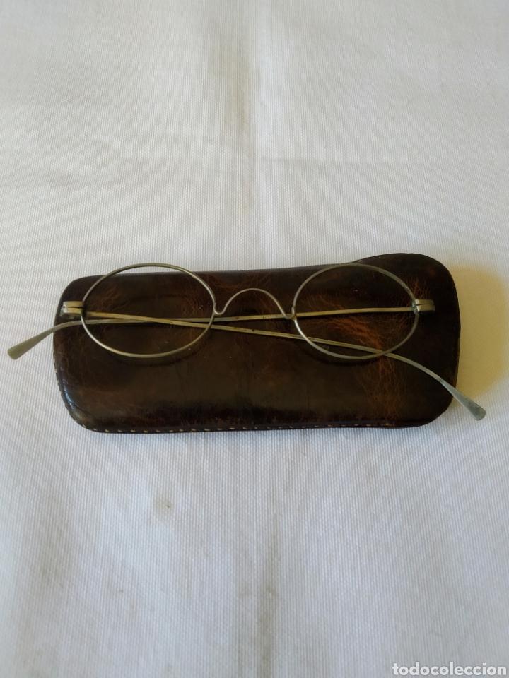 ANTIGUA MONTURA DE GAFAS (Antigüedades - Técnicas - Instrumentos Ópticos - Gafas Antiguas)