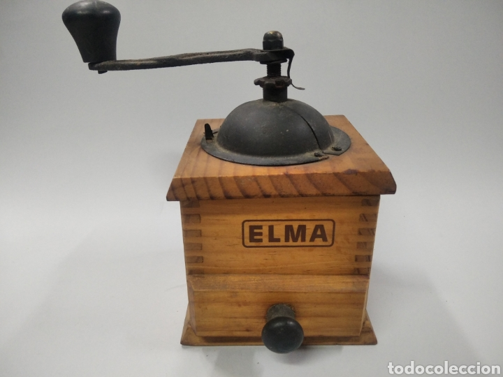 MOLINILLO DE CAFÉ ELMA (Antigüedades - Técnicas - Molinillos de Café Antiguos)