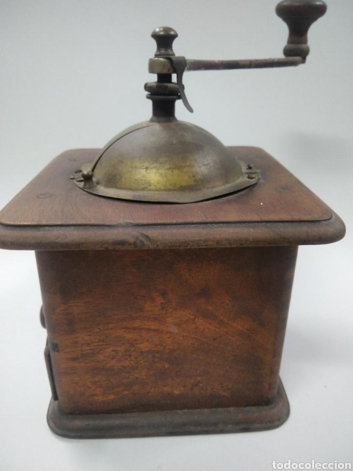 Antigüedades: Antiguo molinillo de café - Foto 7 - 263577120