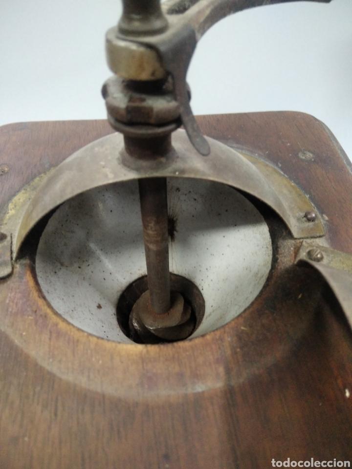 Antigüedades: Antiguo molinillo de café - Foto 8 - 263577120