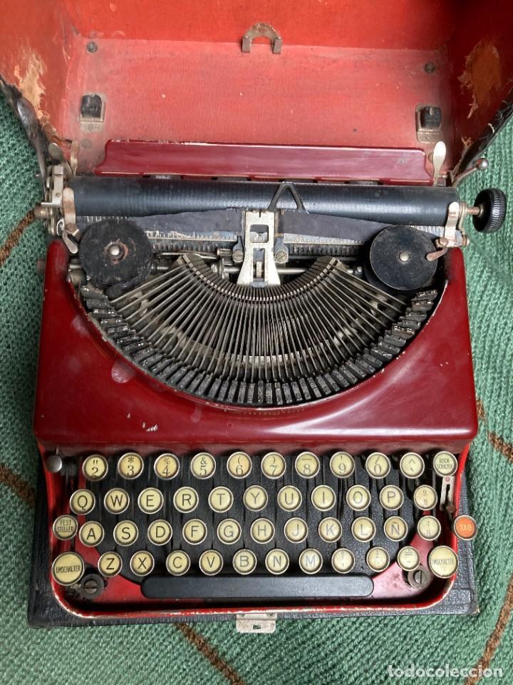 MAQUINA PORTATIL DE ESCRIBIR REMINGTON 1925 (Antigüedades - Técnicas - Máquinas de Escribir Antiguas - Remington)