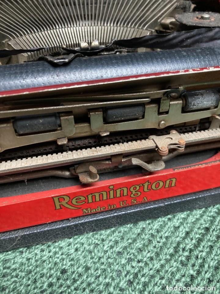 Antigüedades: Maquina PORTATIL de escribir REMINGTON 1925 - Foto 2 - 263645685