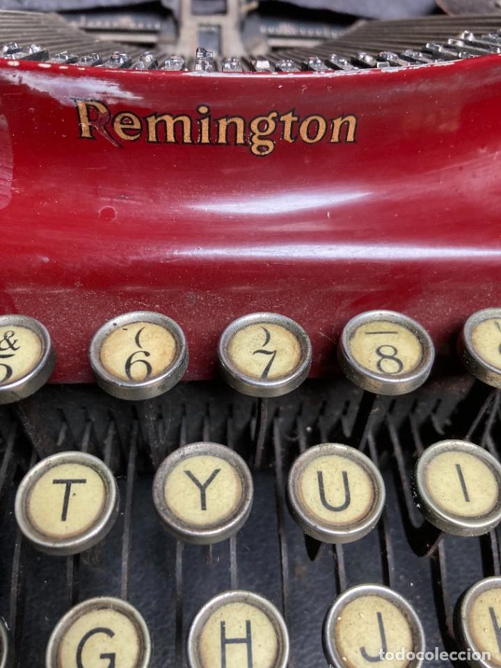 Antigüedades: Maquina PORTATIL de escribir REMINGTON 1925 - Foto 3 - 263645685