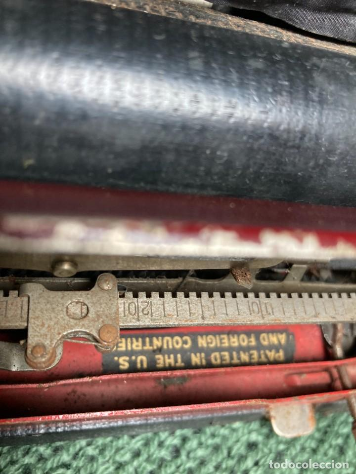 Antigüedades: Maquina PORTATIL de escribir REMINGTON 1925 - Foto 4 - 263645685