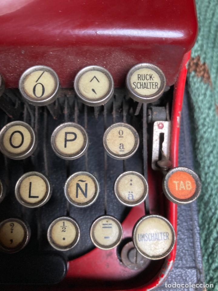 Antigüedades: Maquina PORTATIL de escribir REMINGTON 1925 - Foto 5 - 263645685