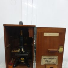Antigüedades: MICROSCOPIO INGLÉS WATSONS. Lote 263668505