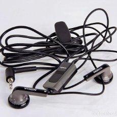 Teléfonos: AURICULARES CON MICROFONO ORIGINALES NOKIA PARA MODELOS DE TELEFONOS ANTIGUOS. Lote 263669145
