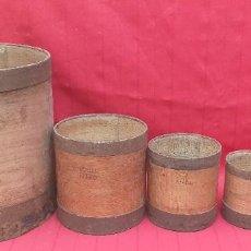 Antigüedades: CUBOS DE MEDIDAS. Lote 263671905