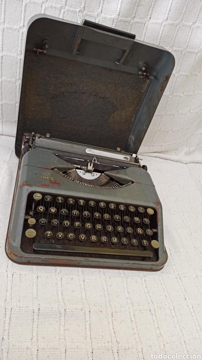 Antigüedades: Máquina de escribir hermes baby Suisse - Foto 5 - 263693880