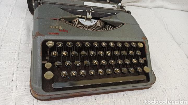 Antigüedades: Máquina de escribir hermes baby Suisse - Foto 7 - 263693880