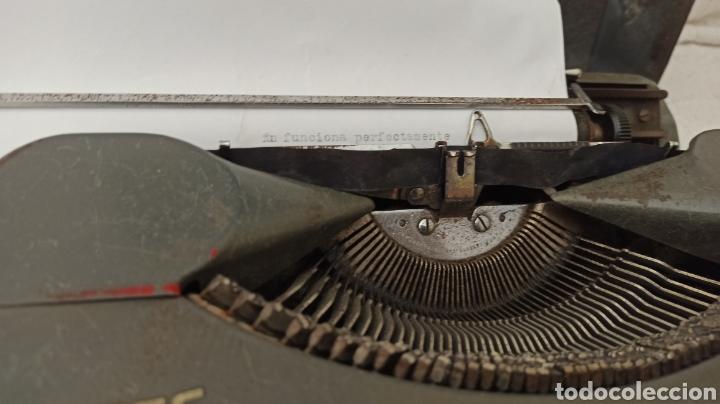 Antigüedades: Máquina de escribir hermes baby Suisse - Foto 8 - 263693880