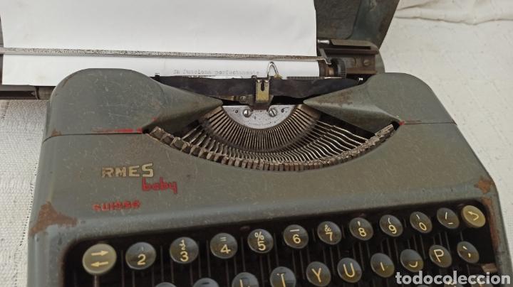 Antigüedades: Máquina de escribir hermes baby Suisse - Foto 10 - 263693880