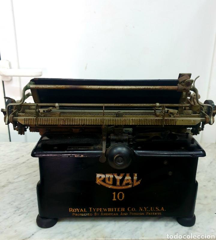 Antigüedades: Máquina de escribir Royal 10 - Foto 4 - 263786110