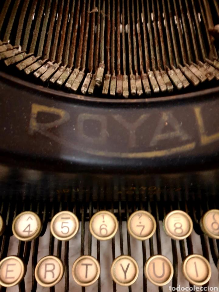 Antigüedades: Máquina de escribir Royal 10 - Foto 7 - 263786110