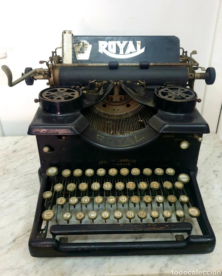 MÁQUINA DE ESCRIBIR ROYAL 10 (Antigüedades - Técnicas - Máquinas de Escribir Antiguas - Royal)