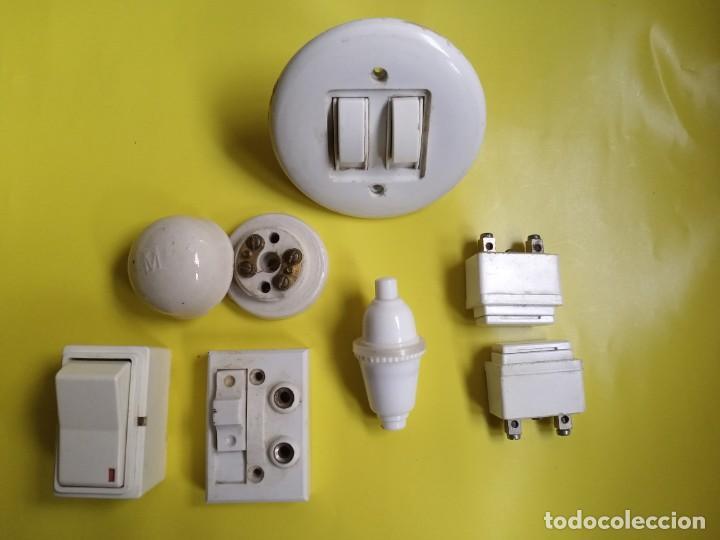 LOTE ELEMENTOS ELÉCTRICOS (N°4) (Antigüedades - Técnicas - Herramientas Profesionales - Electricidad)